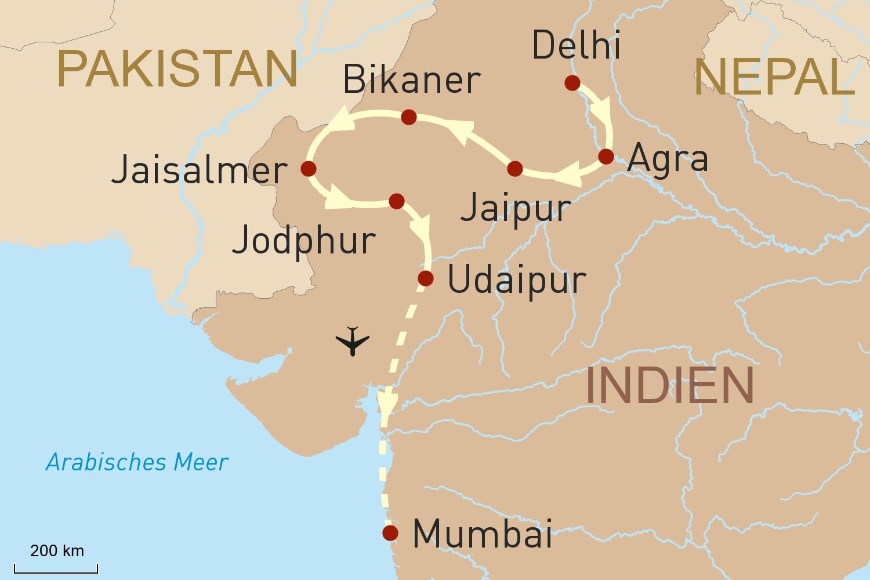 Indien Reise: Indien luxuriös erleben