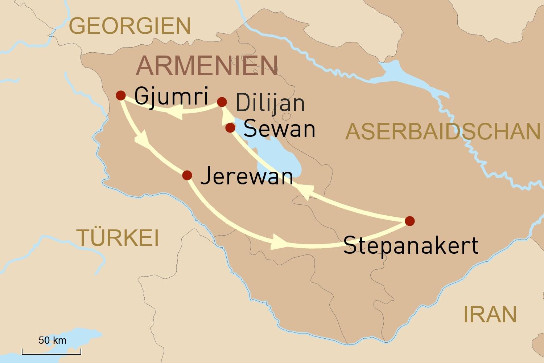 Armenien Reise: Auf den Spuren des Christentums