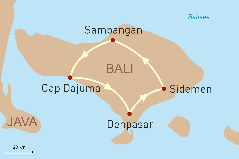 Indonesien Reise: Verwöhnprogramm auf Bali