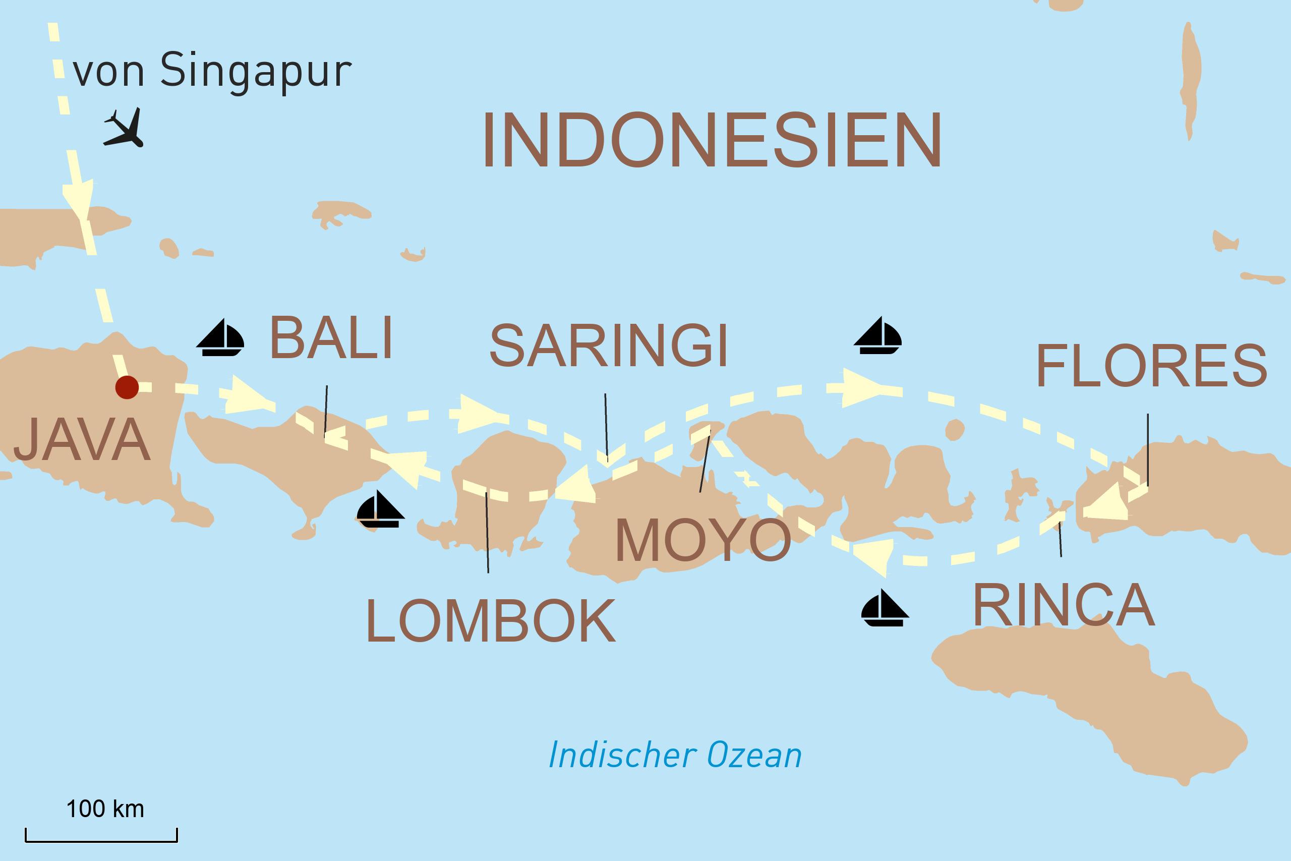 Java, Bali und in die indonesische Inselwelt mit Variety Cruises
