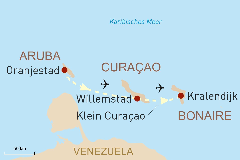 Inselhopping Niederländische Antillen: Die ABC-Inseln