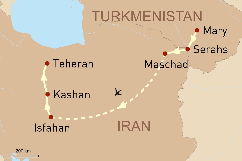 Iran Perlen an der Seidenstraße Teil 2