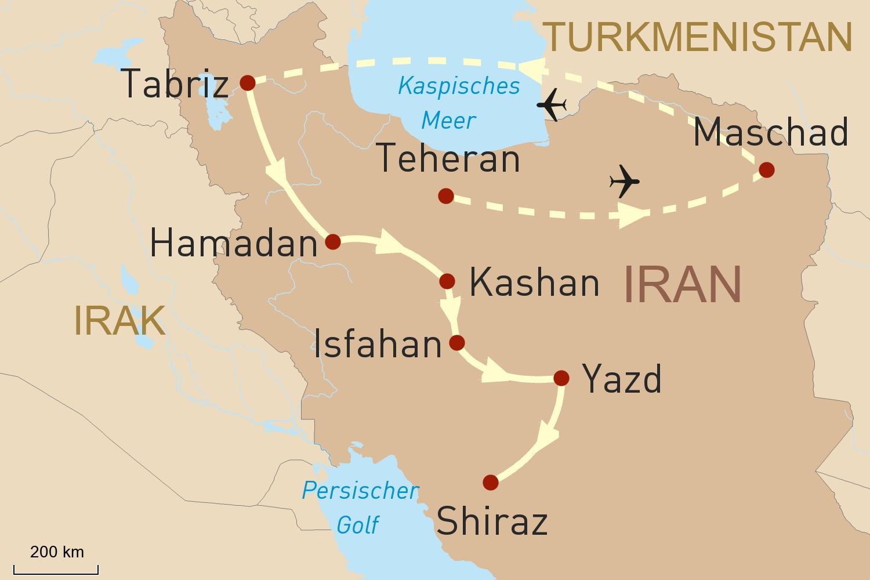Iran Reise: Der Zauber des Orients