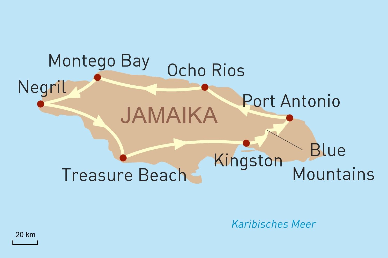 Jamaika Reise: Heiße Rhythmen und wilde Natur