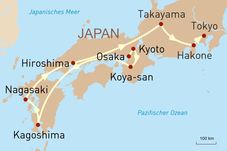 Japan: Gruppenreise Sumo