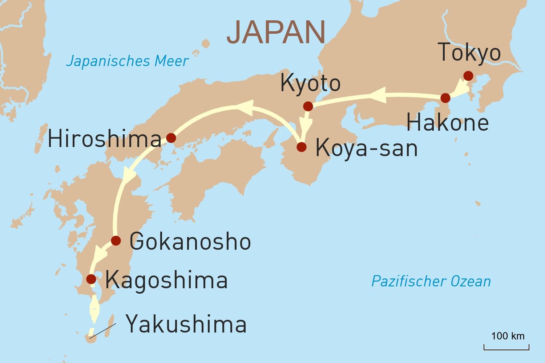Japans Höhepunkte & Naturerlebnis Yakushima