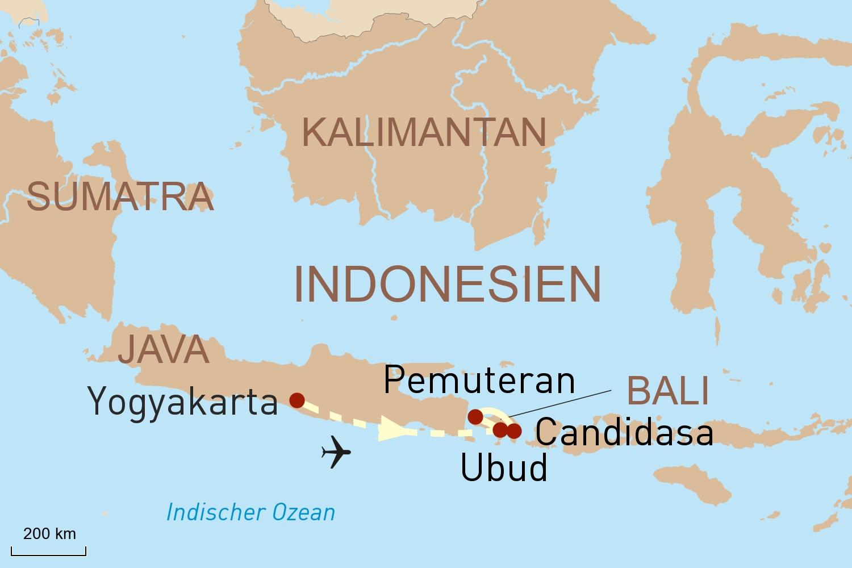 Java Bali Reise: Faszination Indonesien - Yogyakarta und Bali