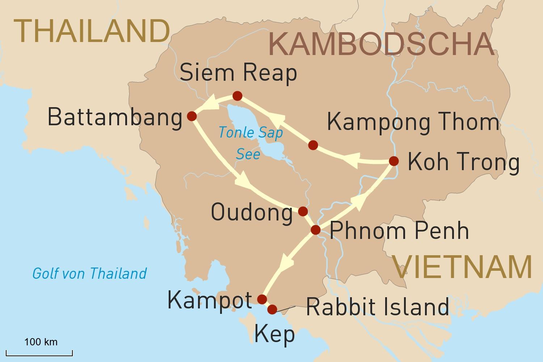 Kambodscha Reise intensiv - im Königreich der Khmer