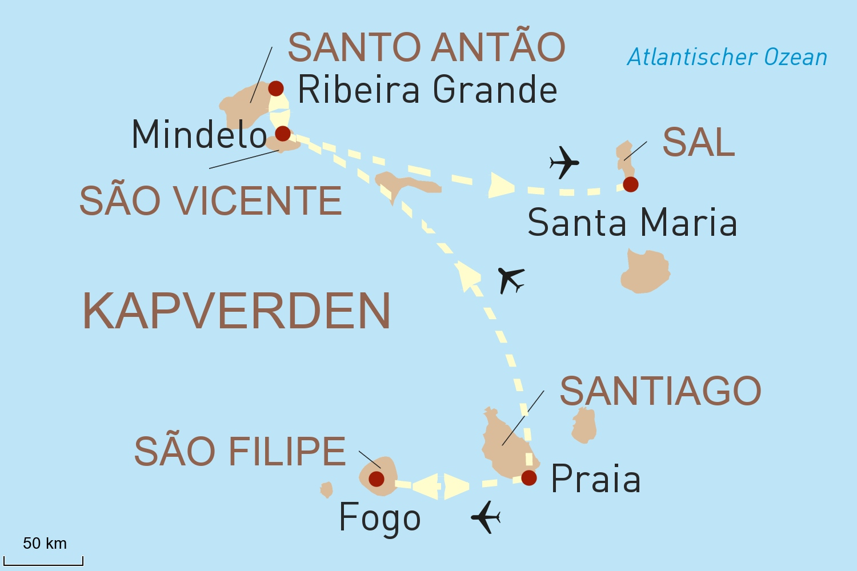 Gesichter der Kapverdischen Inseln