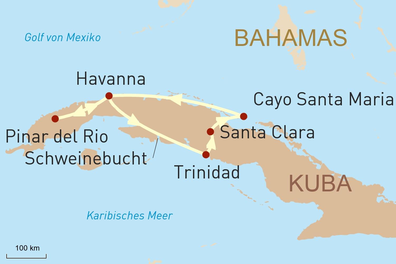 Kuba Reise: Karibikfeeling, Traumstrände und Weltkulturerbe