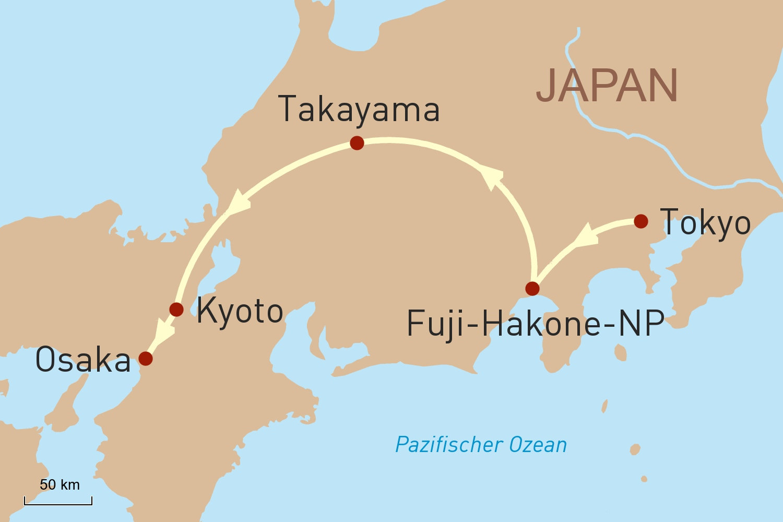Kleingruppenreise Origami: Japan zu jeder Jahreszeit