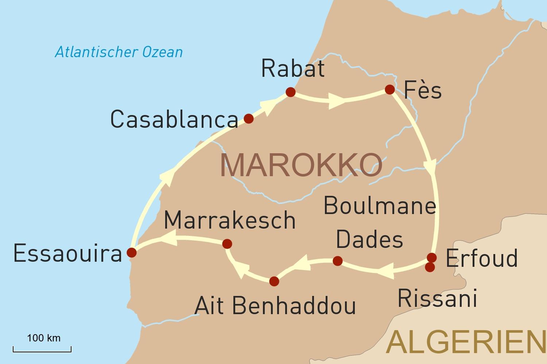 Marokko Reise: Königreich Marokko erleben