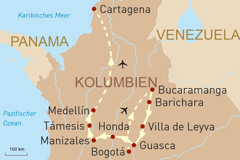 Kolumbiens Vielfalt
