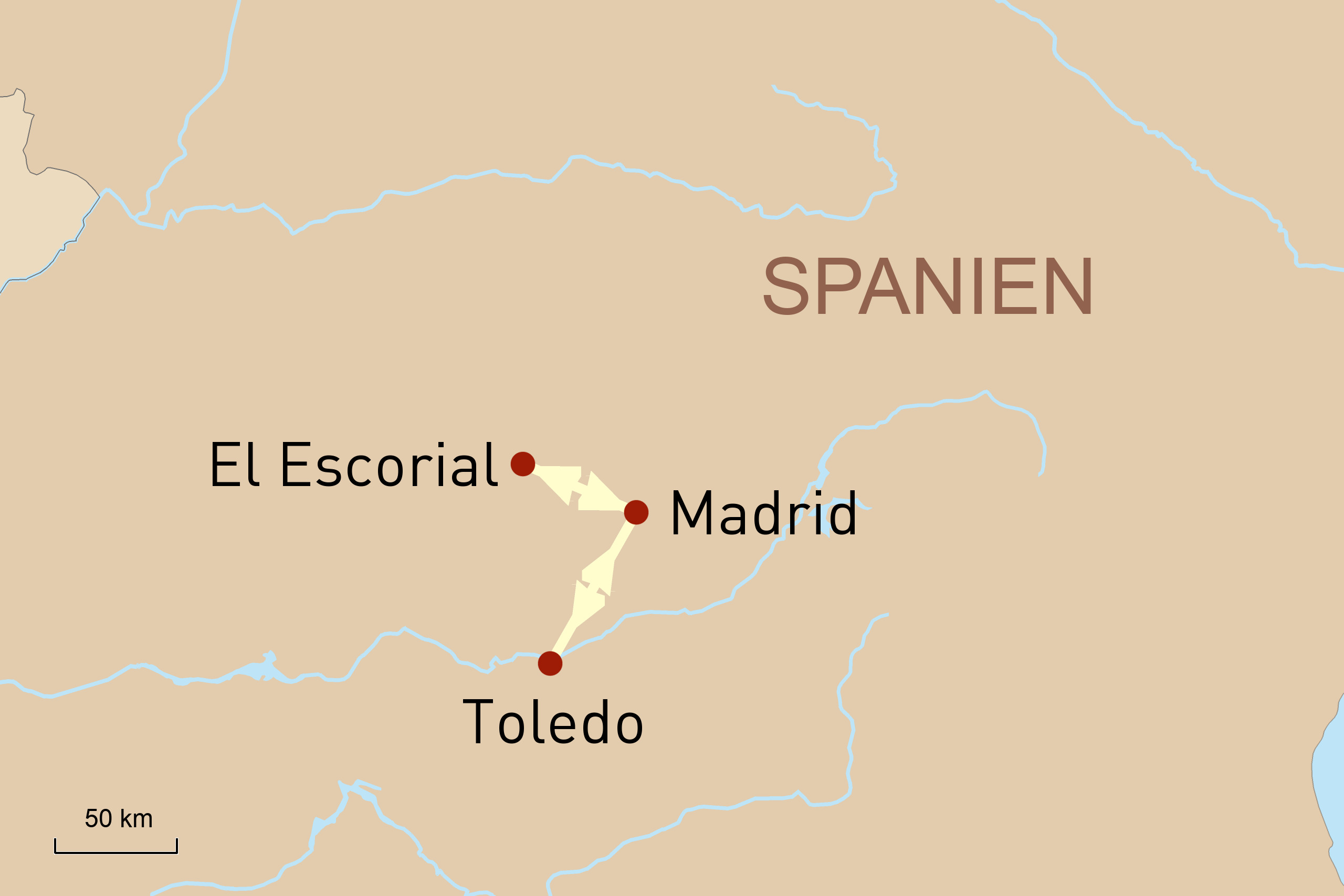 Kunstreise Madrid und Umgebung