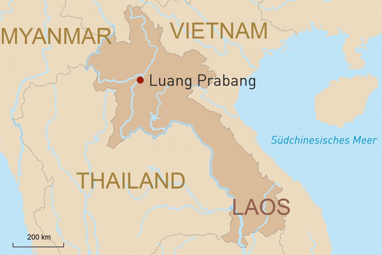 Luang Prabang intensiv erleben