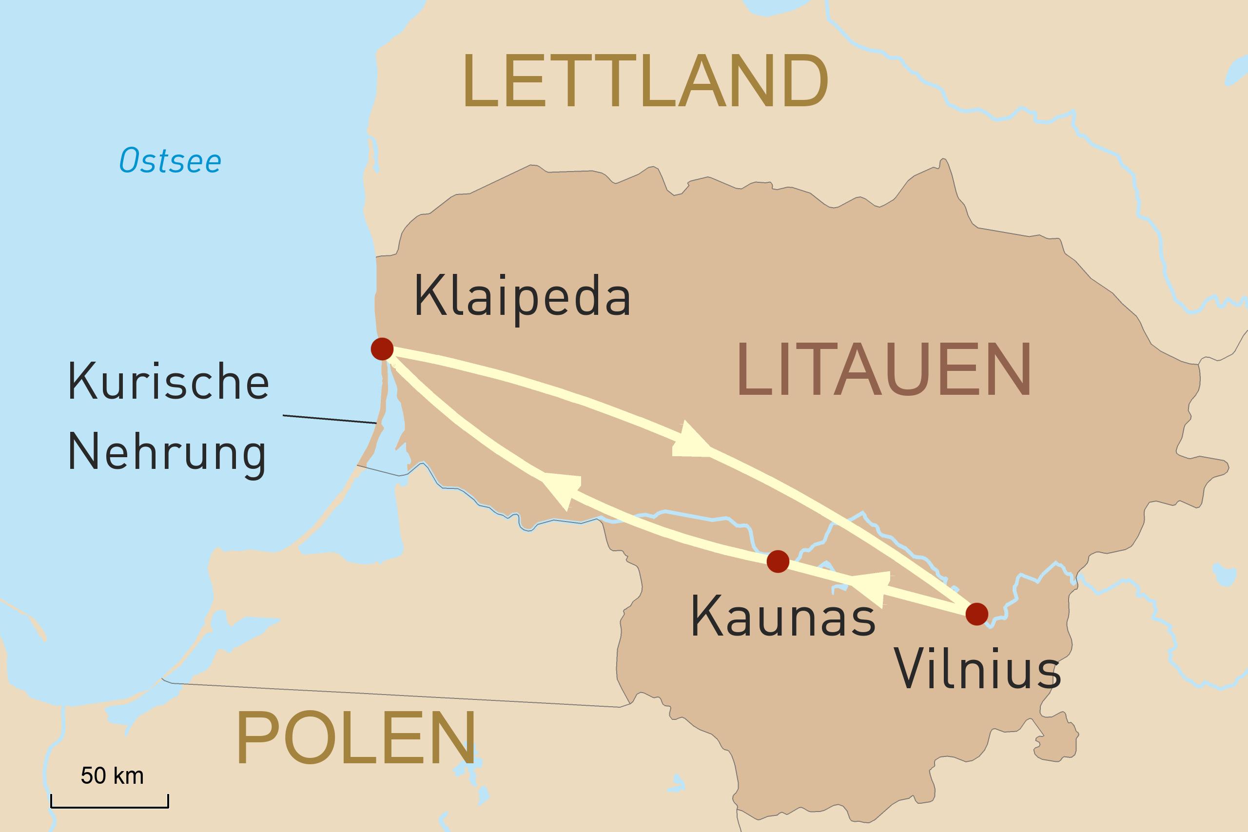 Litauen - Reise in das Land der Legenden