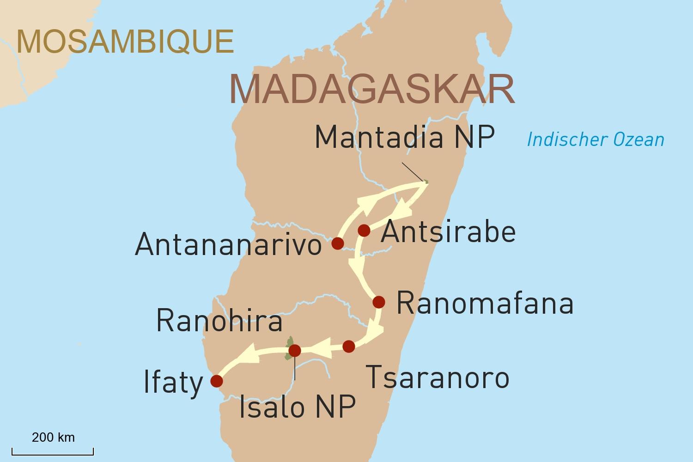 Hohepunkte Madagaskars Trauminsel Mauritius