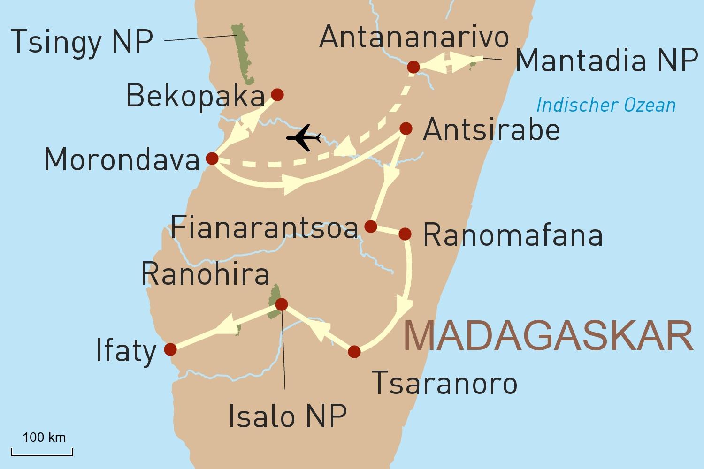 Madagaskar intensiv