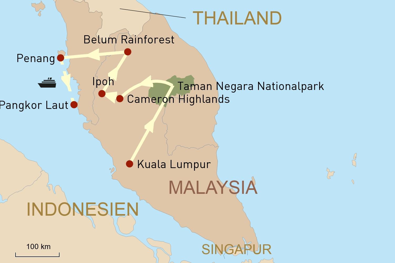 Malaysia: Natur & Kultur pur
