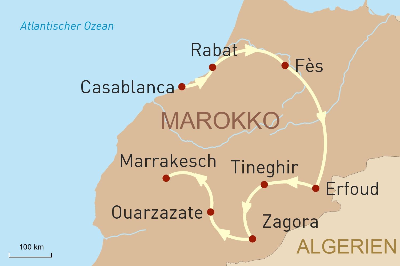 Marokko intensiv