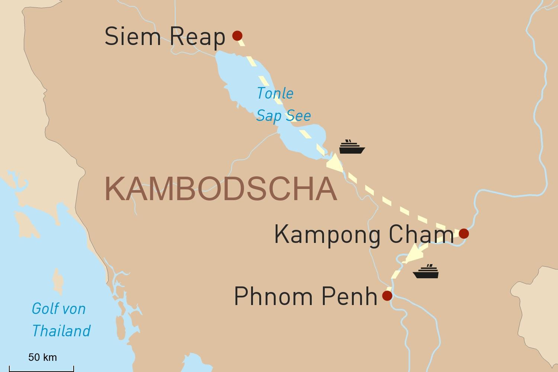 Mekong Kreuzfahrt in Kambodscha mit Heritage Line: Reise der Besinnung