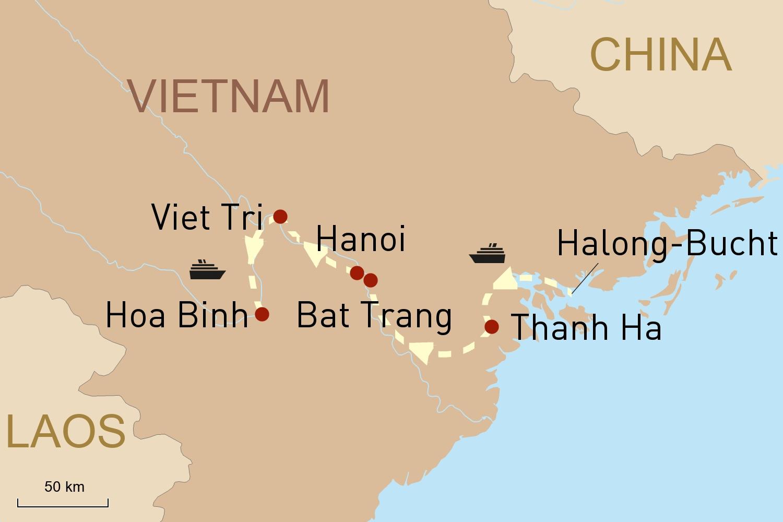 Flusskreuzfahrt Vietnam: Mit der RV Pandaw auf dem Roten Fluss