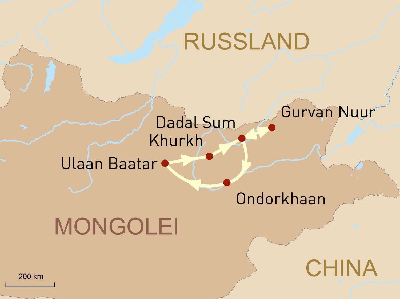 Mongolei: Das Land von Dschingis Khan