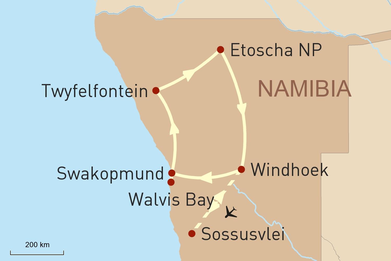 Namibia Reise - Klassisches Kaleidoskop und das Sossusvlei entdecken