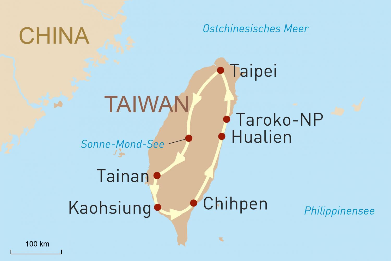 Naturwunder Taiwan