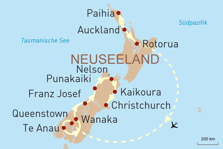 Naturwunder von Neuseeland