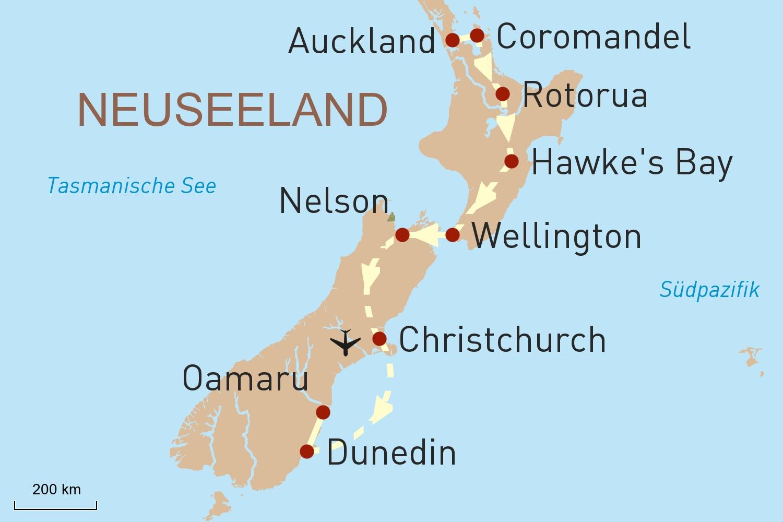 Neuseeland per Helikopter