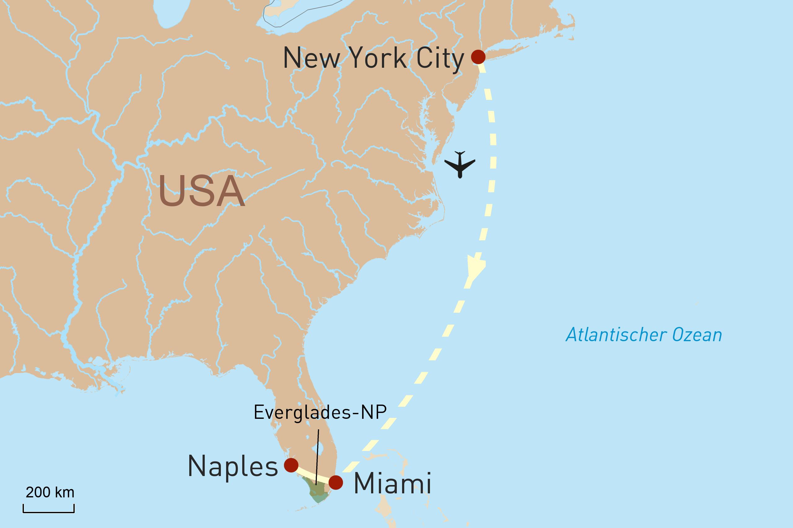 Metropolenerlebnis New York City und 'Sunshine-State' Florida