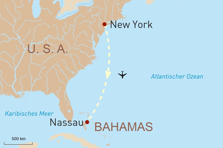 Karibik Reise mit Stopover: Schillerndes New York & Traumstrände der Bahamas