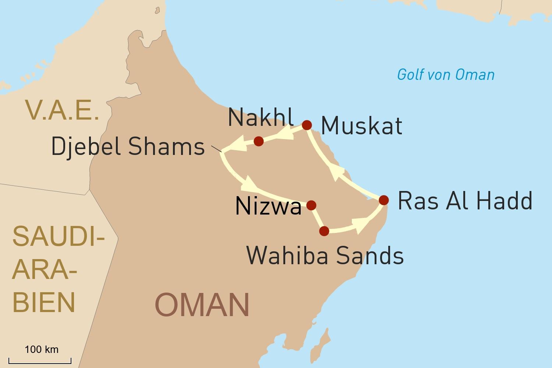 Oman - Monarchie zwischen Märchenland und Moderne
