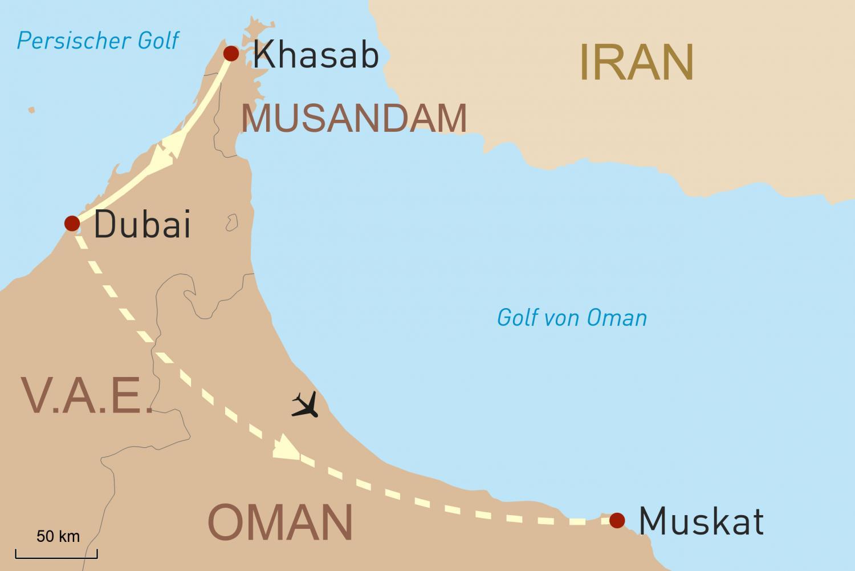 Oman Reise: Muskat und faszinierende Halbinsel Musandam