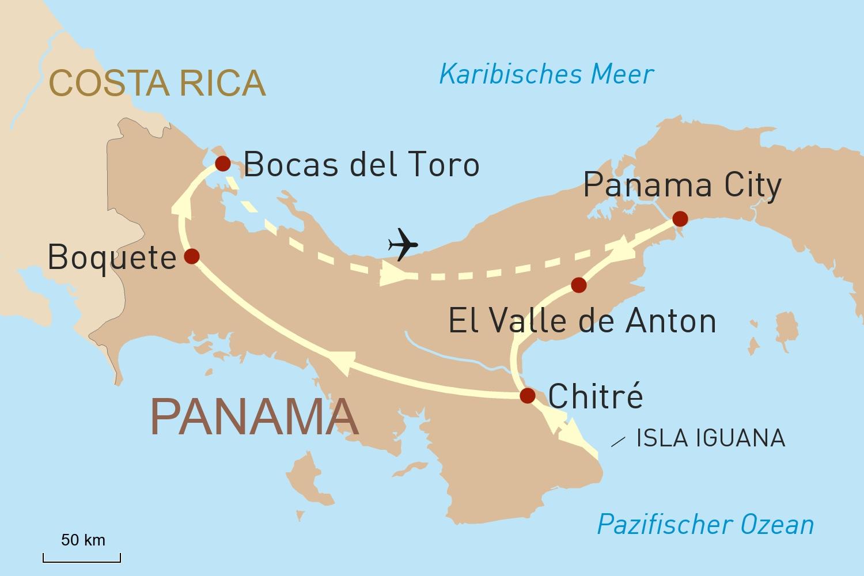 Panama Reise - Zwischen Atlantik und Pazifik