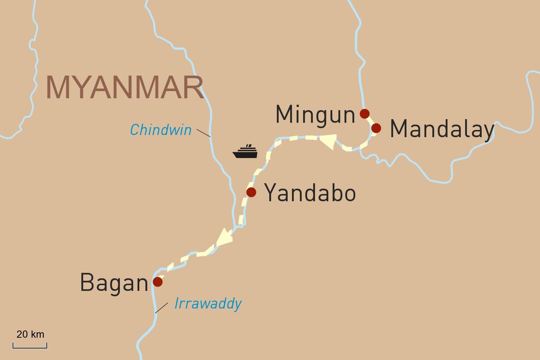 Flusskreuzfahrt in Myanmar auf der RV Paukan: Das königliche Myanmar