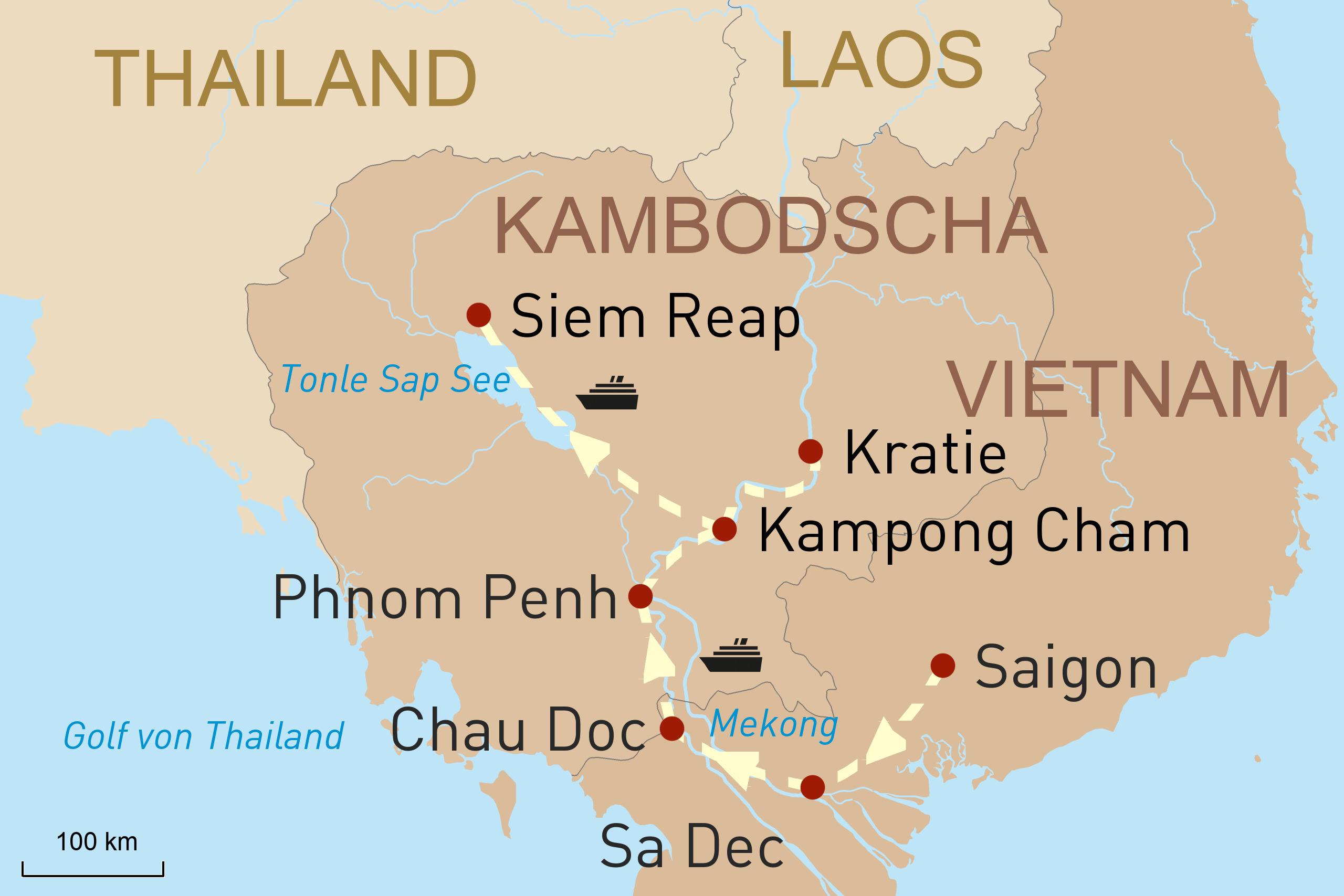 Perlen des Mekong