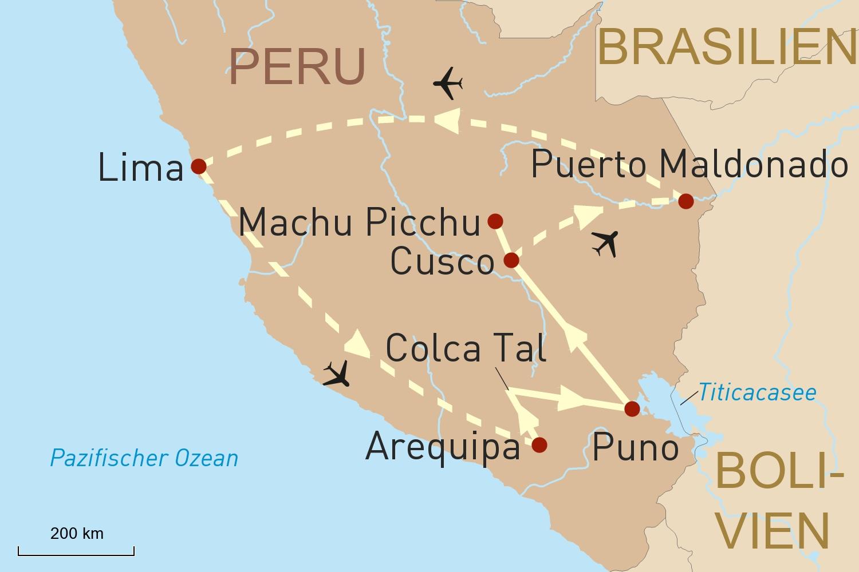 Peru Reise - Land der Inkas