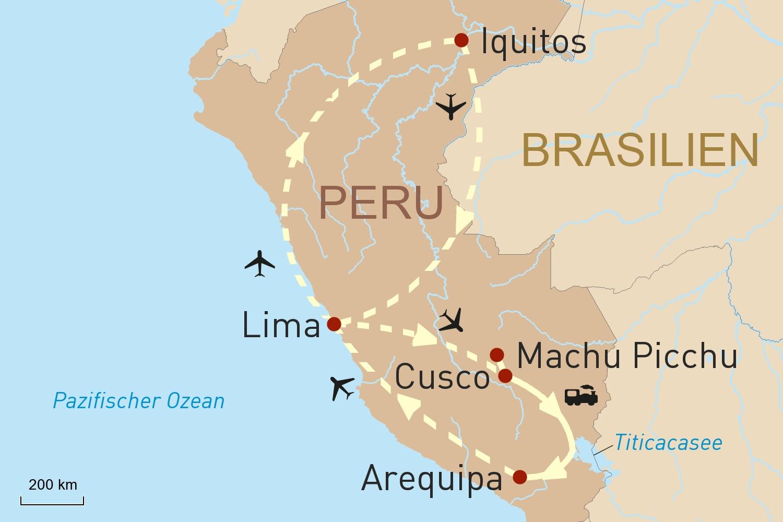 Peru luxuriös erleben