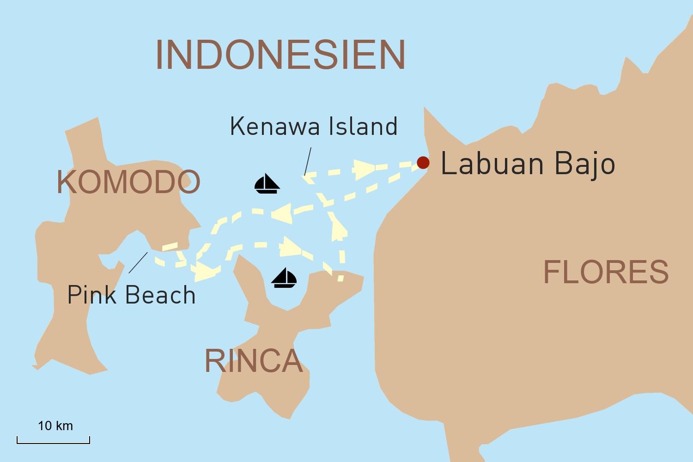 Segelkreuzfahrt Indonesien: Traumhafte Tage auf der Plataran Felicia