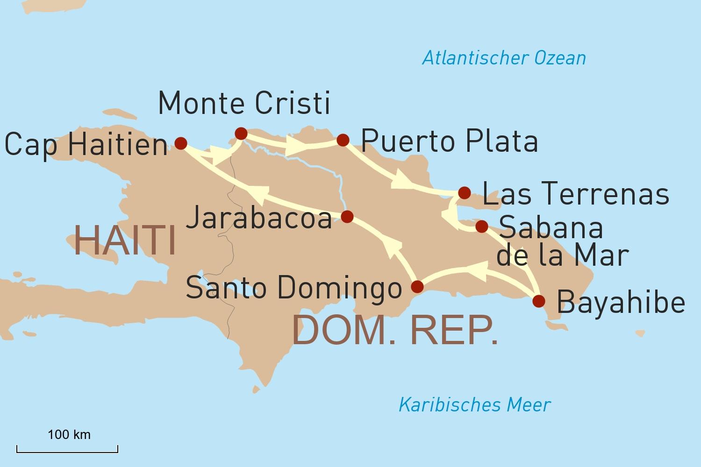 Reise nach Hispaniola: Eine Insel - zwei Welten