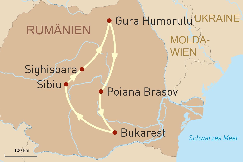 Rumänien: Mystisches Land der Burgen und Wälder