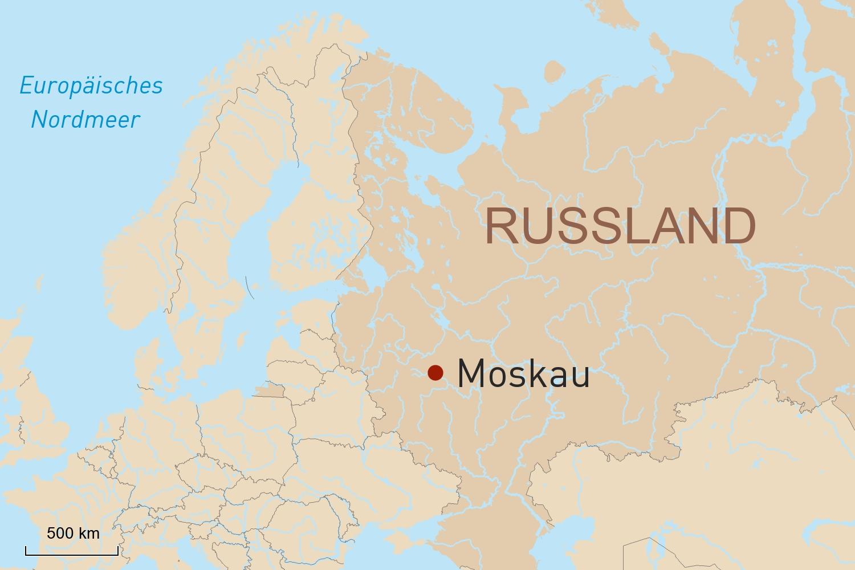 Russland Reise: Citytrip Moskau