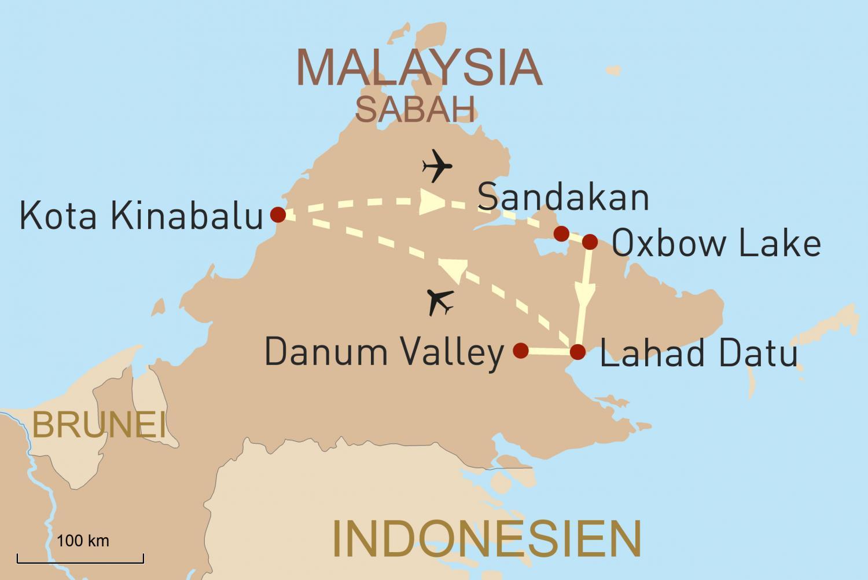 Reise nach Malaysia: Sabahs Naturwunder
