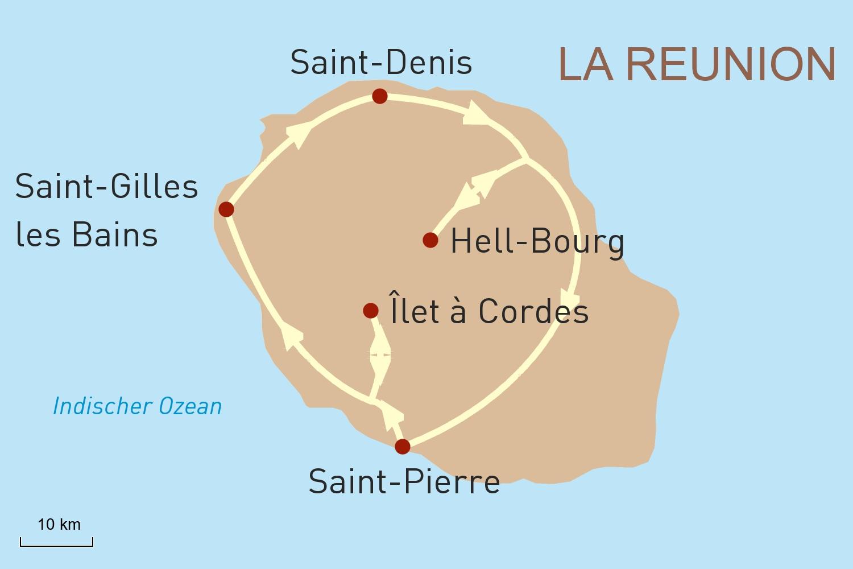 Selbstfahrerreise auf La Réunion: Naturgenuss für Individualisten