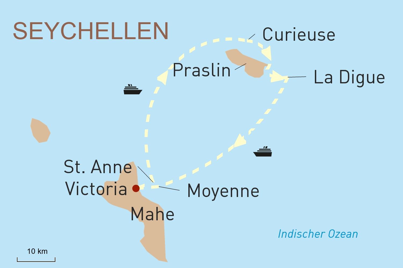 Seychellen Kreuzfahrt mit Variety Cruises: Traumstrände und Naturparadies