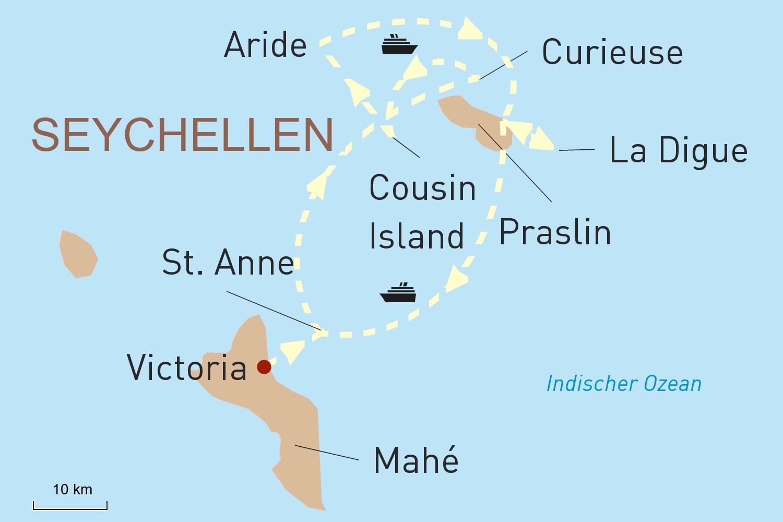 Seychellen - Paradies unter Palmen