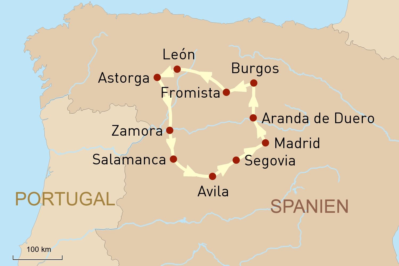 Spanien: Kastilien und León stilvoll entdecken