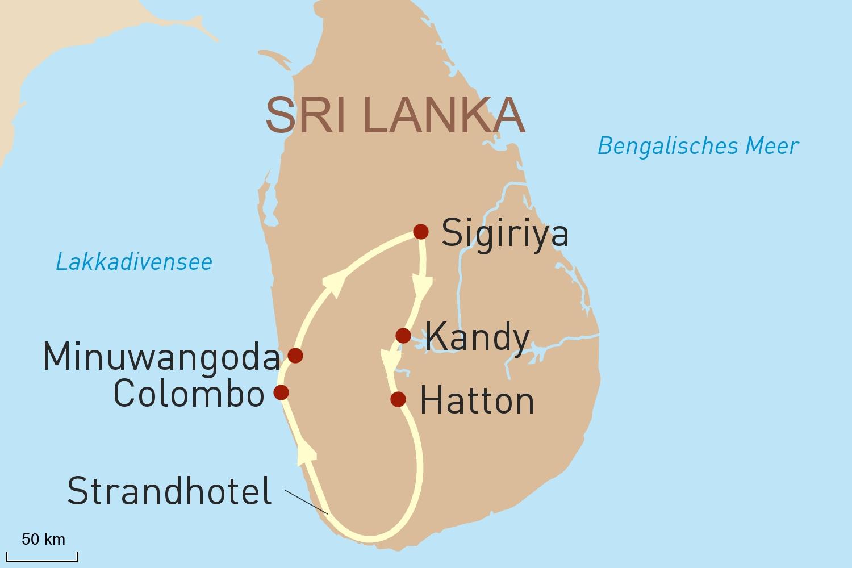 Sri Lanka Reise Deluxe